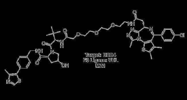 Target: BRD4 - E3 Ligase: VHL - MZ1
